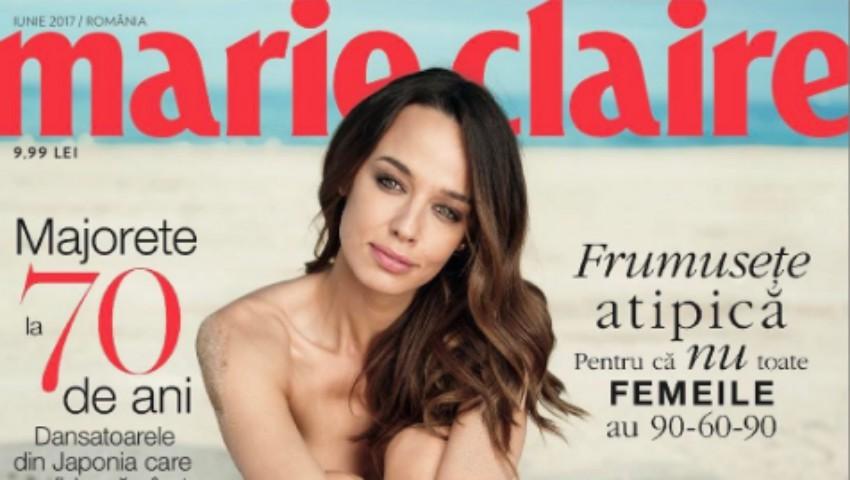 Foto: Andreea Raicu a pozat nud. Cum arată corpul ei fără photoshop