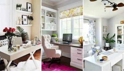 Cum să-ți decorezi biroul de acasă!