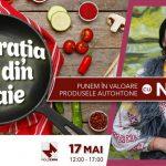"""Foto: Premieră pentru Moldova! Proiectul """"Inspirația vine din tigaie"""", pentru toți cei cărora le place să gătească!"""