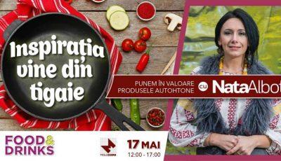 """Premieră pentru Moldova! Proiectul """"Inspirația vine din tigaie"""", pentru toți cei cărora le place să gătească!"""