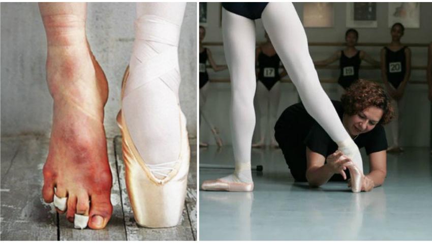Foto: 45 de fotografii despre puterea și grația balerinilor!