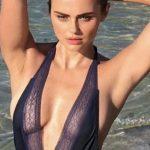 Foto: Xenia Deli pozează sexy în costum de baie!