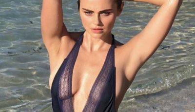 Xenia Deli pozează sexy în costum de baie!