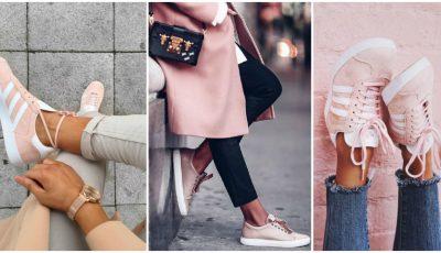Sneakerşii roz – cea mai nouă tendință în rândul fashionistelor!
