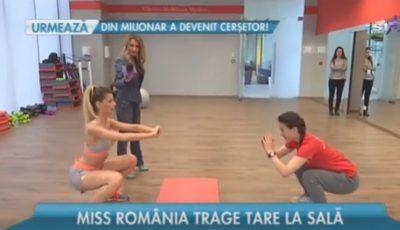 Miss România la Unica Sport
