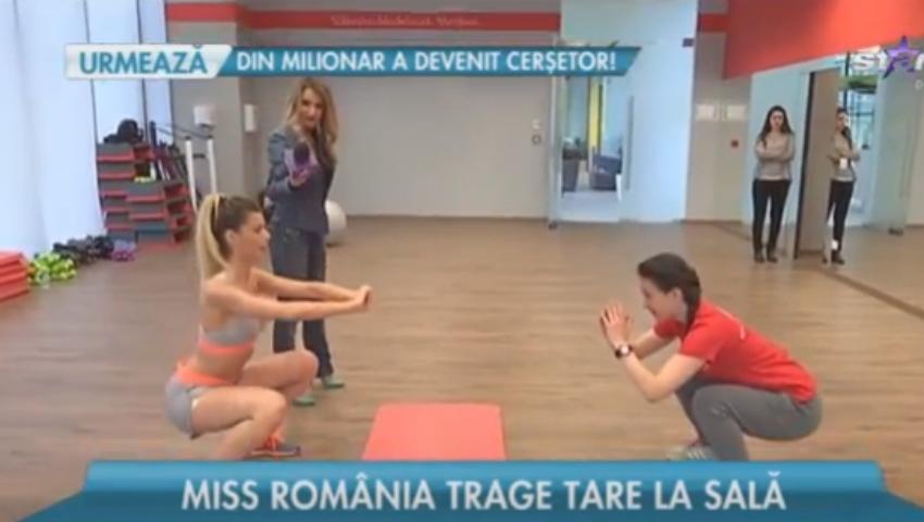 Foto: Miss România la Unica Sport