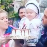 """Foto: Emoționant! Karizma și Valentin Coptilet îi cântă Dariei """"La mulți ani"""""""