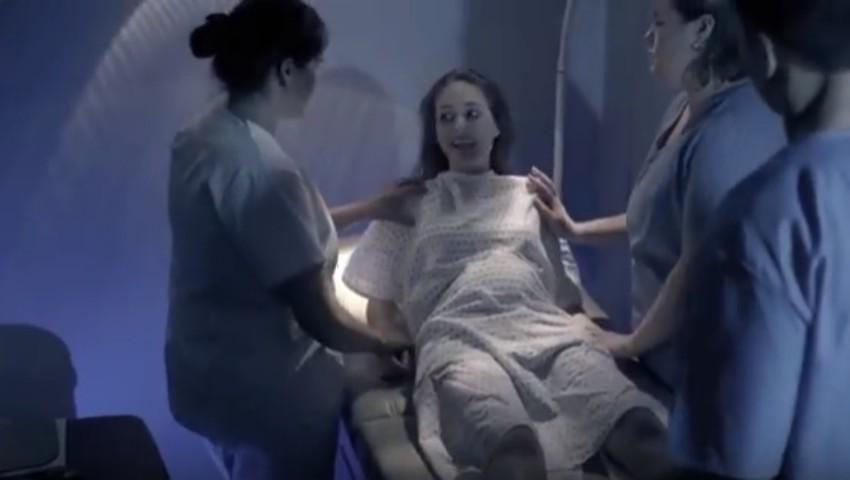 Foto: Îți dă fiori. Un video emoționant împotriva avortului