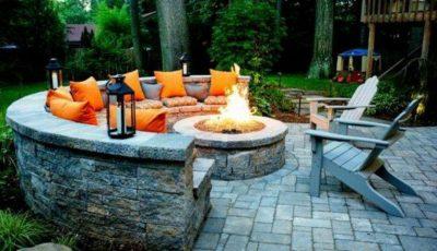 Pas cu pas: idei creative pentru a crea un șemineu exterior acasă