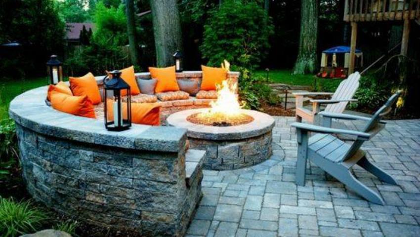 Foto: Pas cu pas: idei creative pentru a crea un șemineu exterior acasă