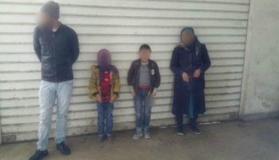 Un turc și trei afgani ascunși în remorca unui camion cu detergent condus de un moldovean