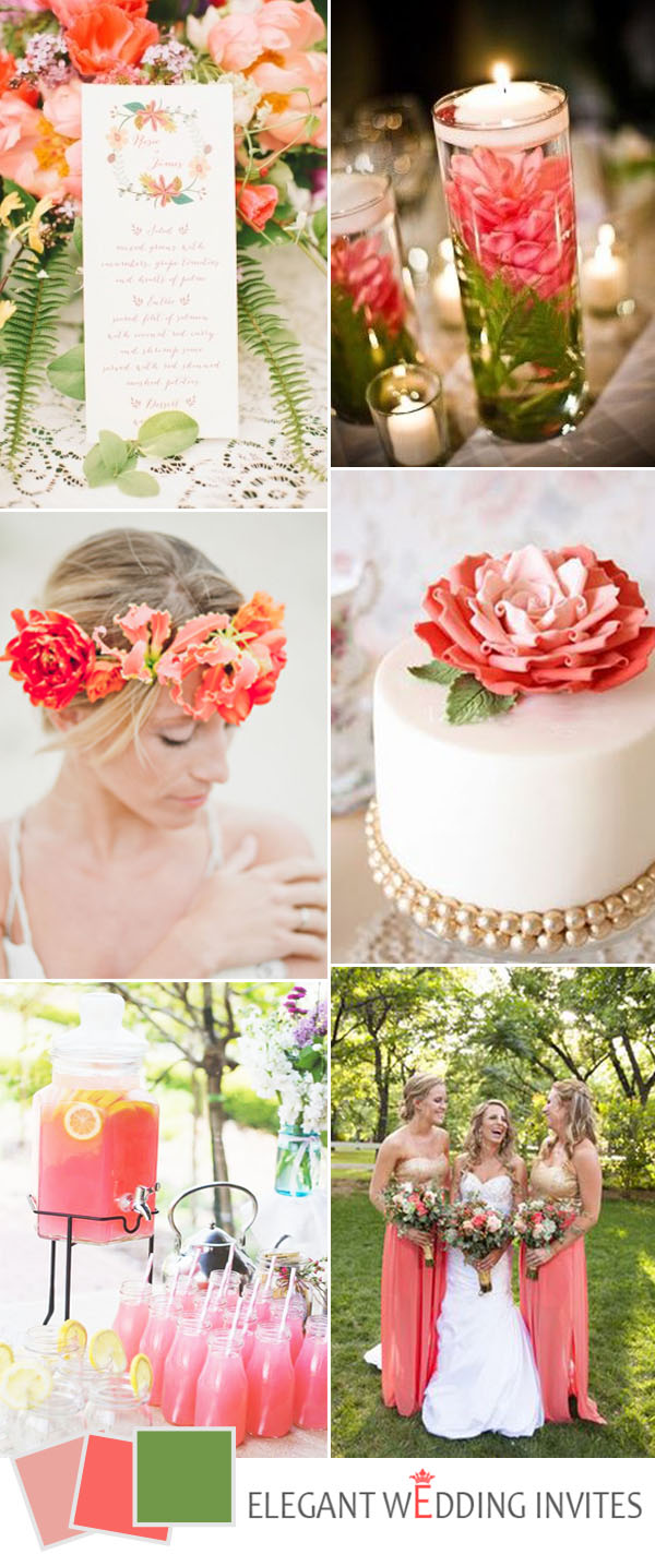 green-and-coral-peach-wedding-color-ideas-for-2017