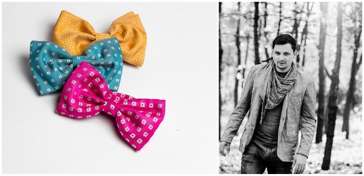 Foto: De la fotografie la dorința de a crea accesorii vestimentare pentru bărbați! Povestea lui Cornițel Alexandru
