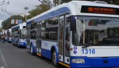 Circulația transportului public va fi sistată pe mai multe străzi din Capitală!