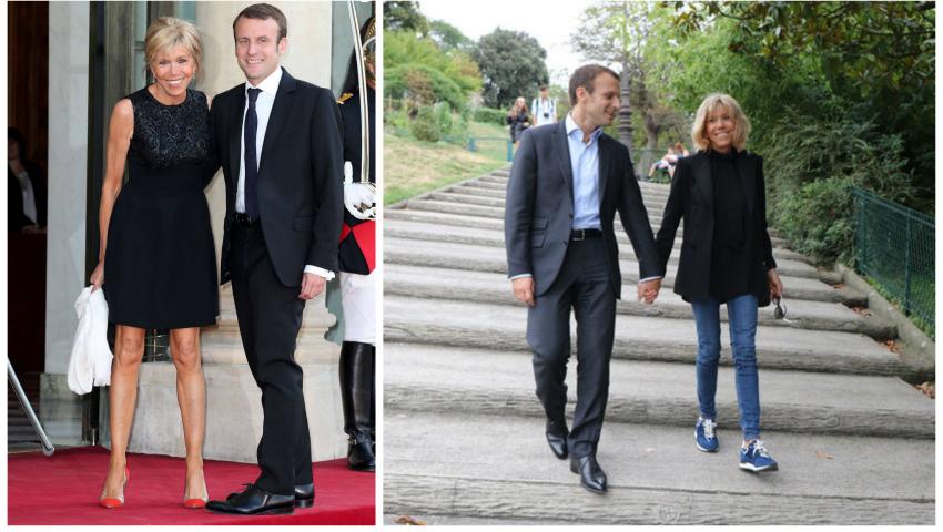 Foto: Cine este soția noului Președinte ales al Franței?