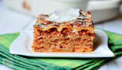 Cea mai simplă și delicioasă rețetă de lasagna