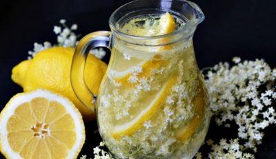 Limonadă cu flori de soc