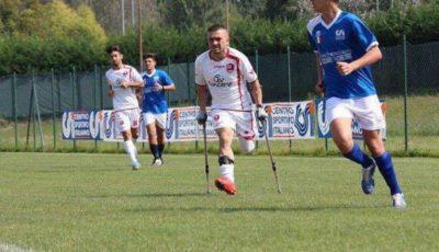 Constantin a rămas fără un picior însă face sport și îi ajută pe alții să trăiască!