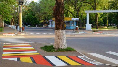 Noi imagini de la Soroca! Cum arată orașul după ce străzile au fost pictate