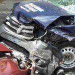 Foto: Accident în Capitală: Un taximetrist şi doi pasageri au ajuns la spital