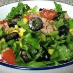 Foto: Salată verde cu ton