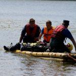 Foto: Salvatorii caută o persoană înecată într-un iaz din Cicur-Mingir