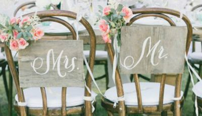 Husele din satin nu mai sunt la modă în 2017! Alege decorațiuni de scaune elegante, simple și naturale!