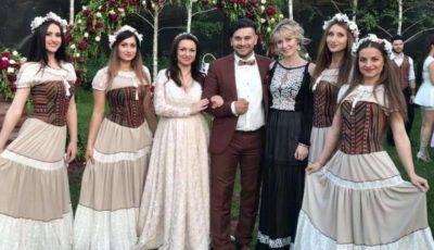Poze! Valentin Uzun joacă la propria nuntă în această seară!
