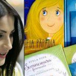 """Foto: Stela Popa își felicită băiețelul cu o nouă carte din colecția """"Povești pentru Dănuț"""" – """"Regele cel înțelept"""""""