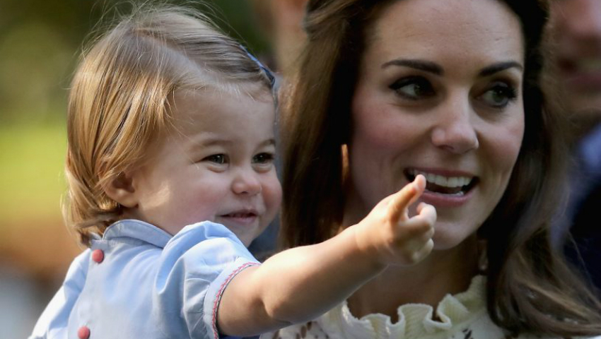 Foto: Prințesa Charlotte împlinește doi ani! Casa Regală a publicat o nouă fotografie cu micuța