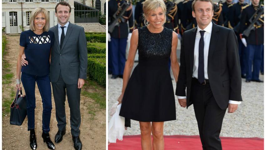 Foto: Brigitte Macron: stilul vestimentar care o face să arate mult mai tânără!