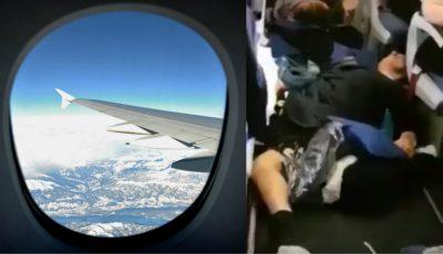 20 de pasageri ruși au fost răniți după ce avionul a trecut printr-o zonă cu turbulențe puternice!