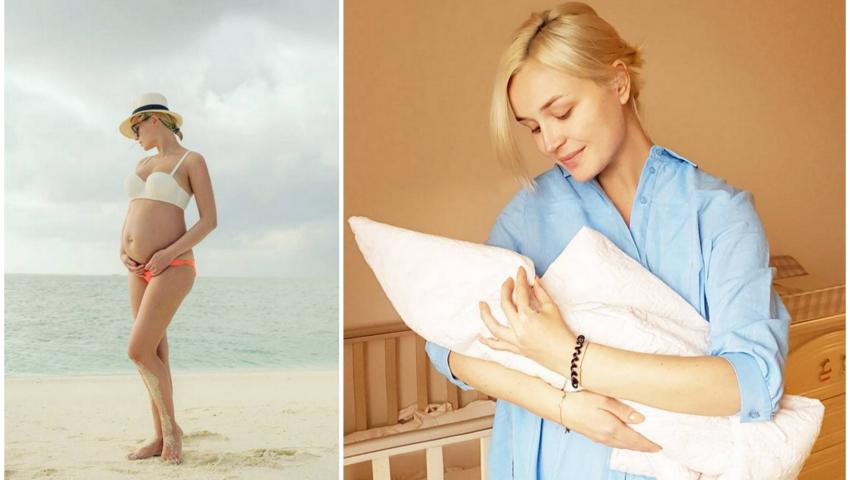 Foto: Polina Gagarina a născut al doilea copil! Cum a decurs nașterea fetiței?