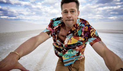 Fotografii cu Brad Pitt de la ultima ședință foto! Actorul a vorbit despre divorț