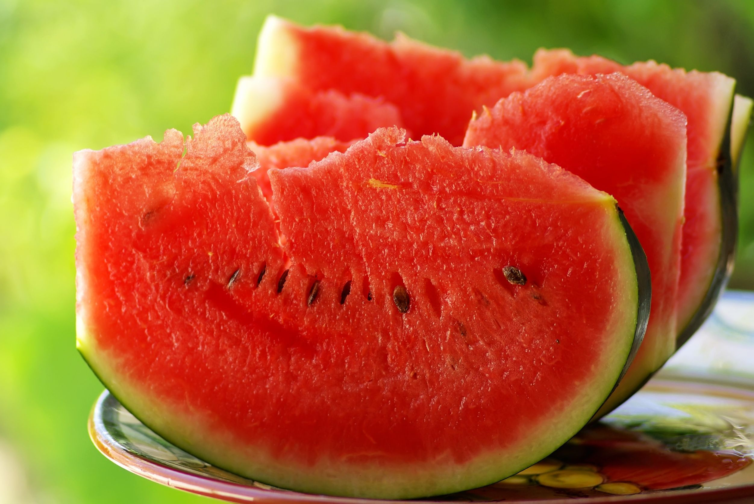 9870736 - slices of red watermelon