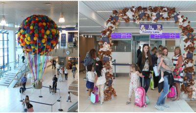 Familiile cu copii vor fi tratate prioritar la sosirea pe aeroport