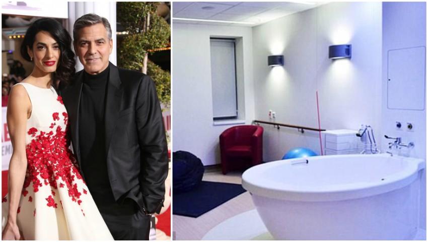 Foto: Detalii despre naștere. Locul în care au venit pe lume gemenii lui George și Amal Clooney!