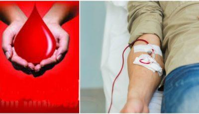 Pe 14 iunie, poți să donezi sânge, fii donator voluntar! Vezi care sunt toate punctele de colectare din țară