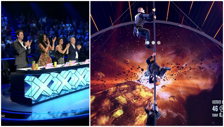 """Foto: Trupa Run to Infinity, la un pas să câștige concursul ,,Românii au Talent""""! Momentul din finală i-a uimit pe jurați"""