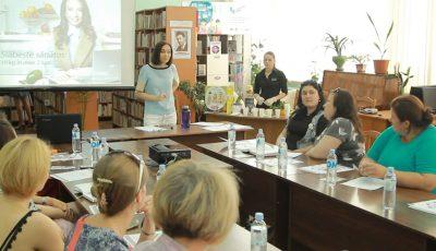 Galina Tomaș a dat startul Turneului de vară al Seminarelor de nutriție în toată Țara