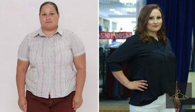 După 33 de kilograme slăbite și un nou look, această femeie se simte deosebită!