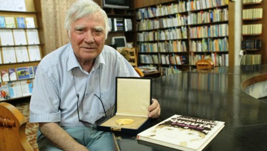"""Foto: """"Tatăl lui Guguță"""" împlinește 85 de ani. În cinstea lui, s-au organizat mai multe evenimente"""