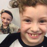 Foto: O fetiță în vârstă de 7 ani a învins cancerul în fază terminală