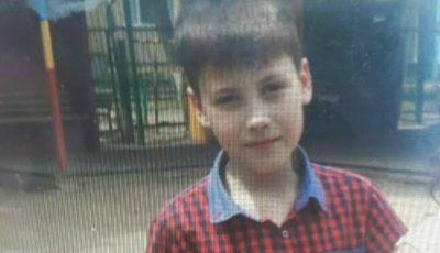 Băiețelul de 10 ani dat dispărut a fost găsit. Ce s-a întâmplat cu el?