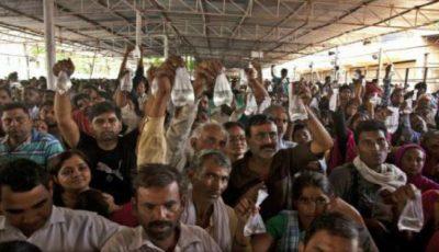 Ritual periculos în India. Mii de persoane stau la coadă pentru a se vindeca de astm înghițind un pește