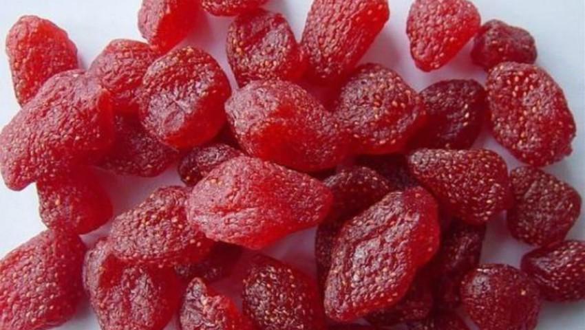 Foto: Căpșuni confiate