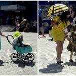 Foto: În Capitală a avut loc Parada Slingurilor și a Cărucioarelor