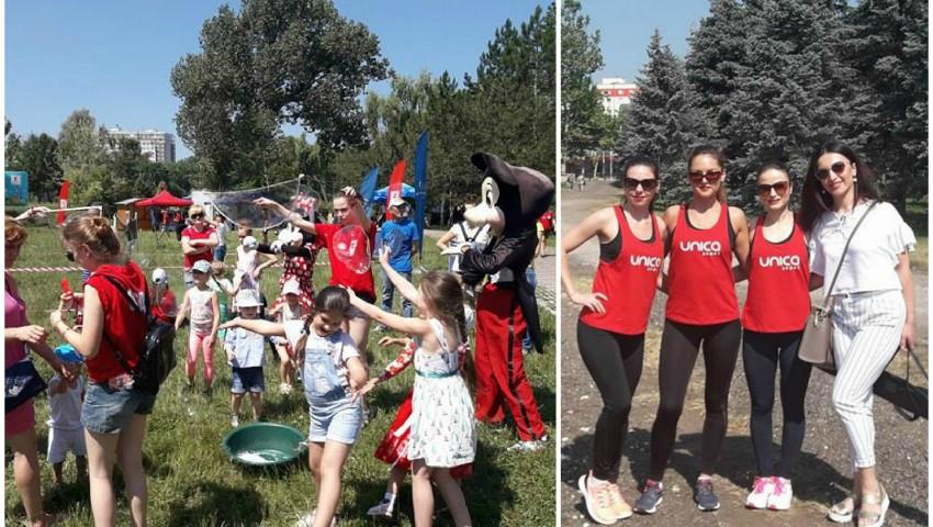 Chișinăuienii s-au bucurat în mișcare împreună cu echipa Unica Sport!