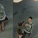 """Foto: Să ne cunoaștem """"eroii"""". Un tânăr fură flori din centrul Capitalei"""