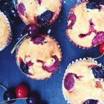 Foto: Cupcakes cu cireșe de la Valerie's Food. Sunt delicioase